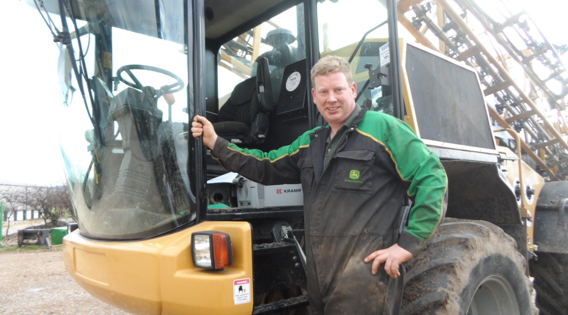 EYES FIRMLY FIXED ON FARMING'S FUTURE