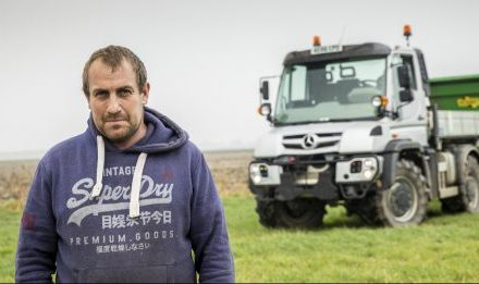 AGRICULTURAL CONTRACTOR'S MERCEDES-BENZ UNIMOG WINS HANDS DOWN AT THE PUMPS