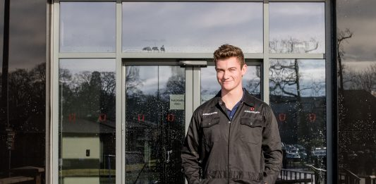 FARMING AND RUGBY IS WINNING COMBINATION FOR STUDENT HARRY