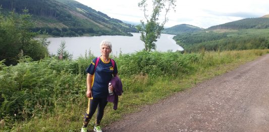 MUM TAKES GREAT STRIDES IN YORKSHIRE FOR SON WHO HAS CYSTIC FIBROSIS