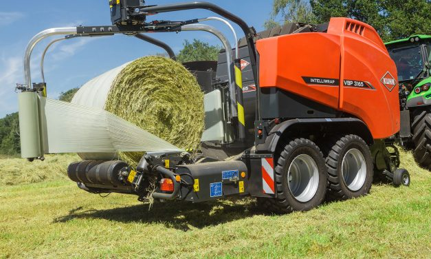 KUHN EXTENDS FILM BINDING TO VARIABLE CHAMBER BALER-WRAPPER RANGE