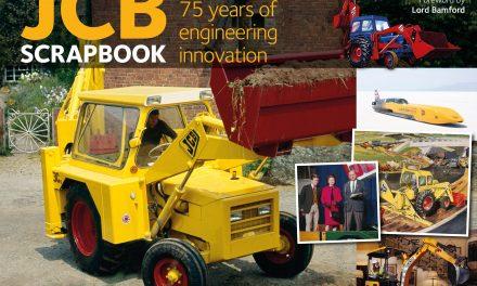 New Book Rolls Off the Press to Mark JCB's 75th Birthday