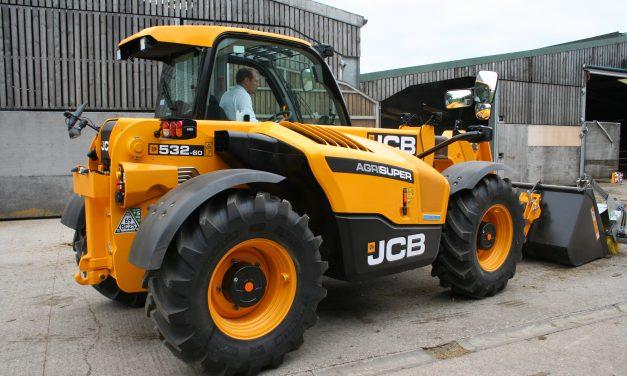 JCB's Most Compact Mid-Range Loadall Gets Dualtech VT Drive